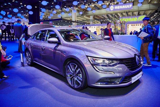 Renault Talisman le prime foto e le informazioni