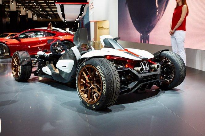 Honda Project 2&4, ovvero la MotoGP su quattro ruote