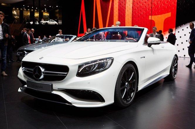 Mercedes Classe S Cabrio, le foto e le informazioni ufficiali