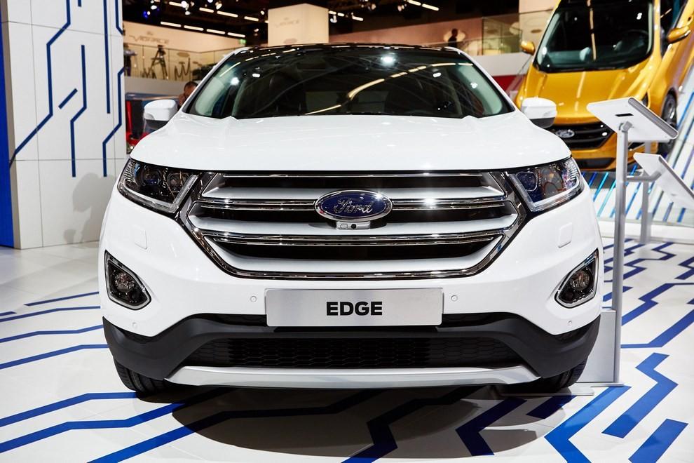 Ford Edge, le specifiche del suv per l'Europa - Foto 3 di 11