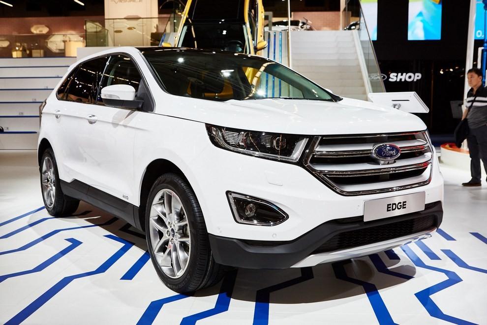 Ford Edge, le specifiche del suv per l'Europa - Foto 5 di 11