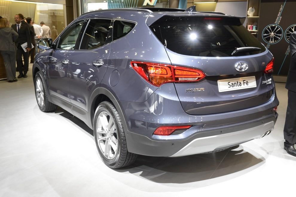 Hyundai Santa Fe pronta al lancio - Foto 2 di 4