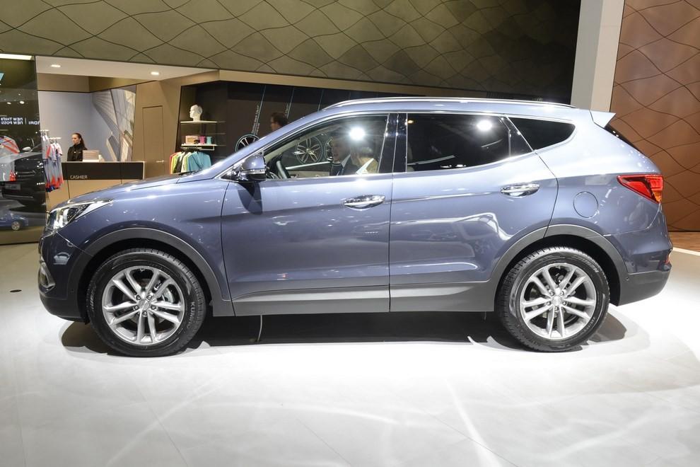 Hyundai Santa Fe pronta al lancio - Foto 4 di 4