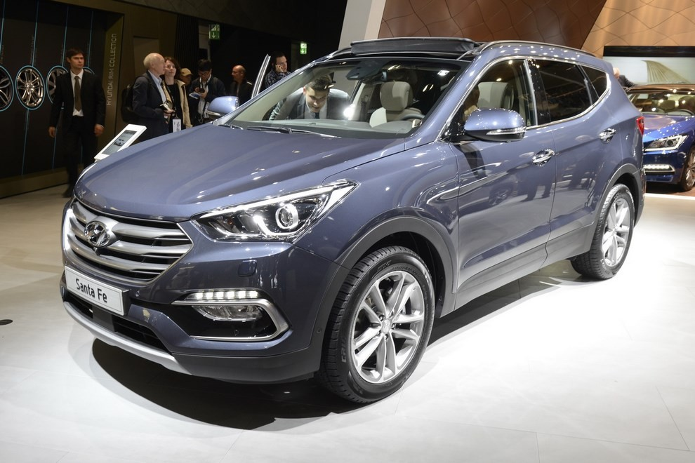 Hyundai Santa Fe pronta al lancio - Foto 1 di 4