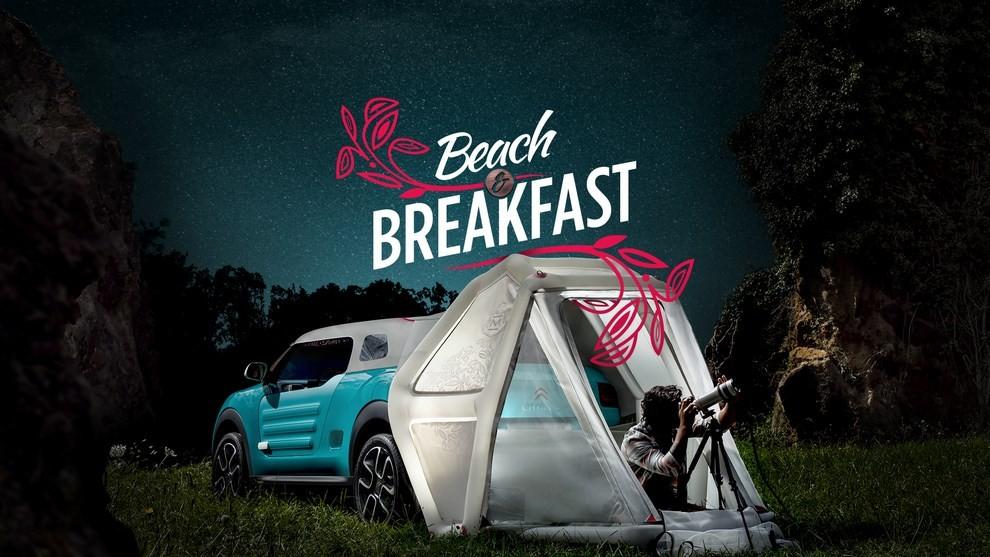 Citroen Cactus M regala un soggiorno Beach & Breakfast - Infomotori