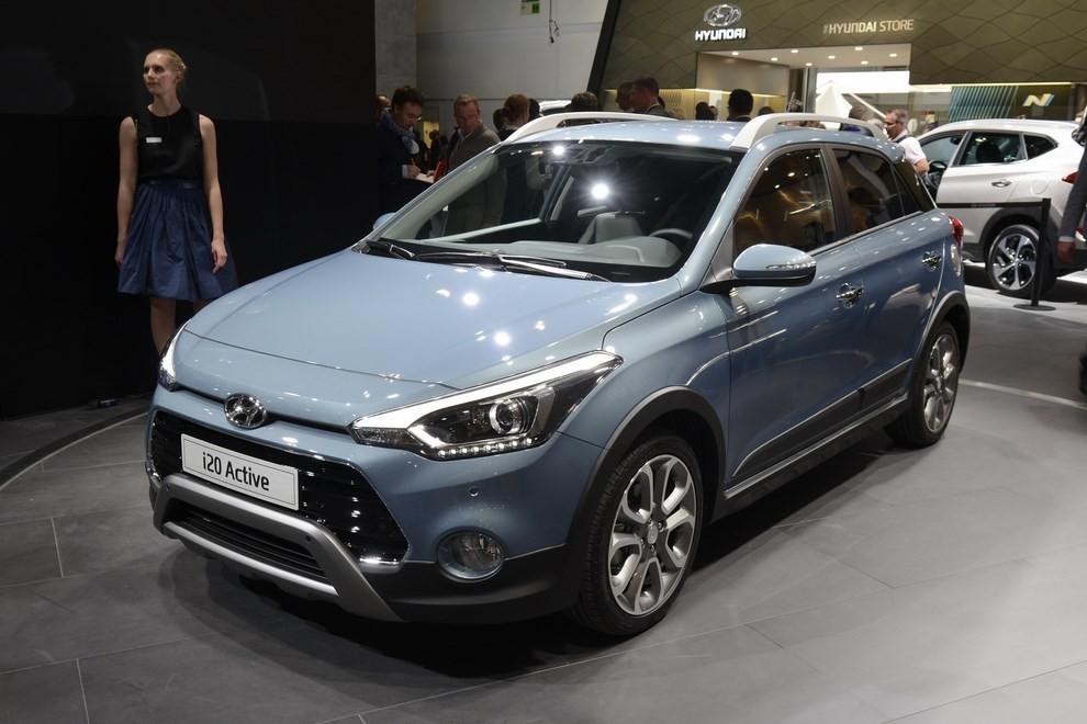 Hyundai i20 Active, la compatta offroad - Foto 1 di 14