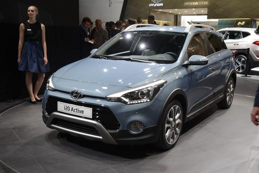 Hyundai i20 Active, la compatta offroad