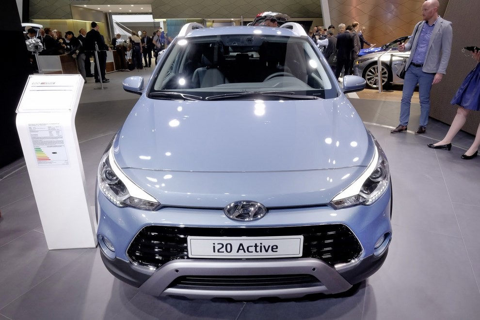Hyundai i20 Active, la compatta offroad - Foto 14 di 14