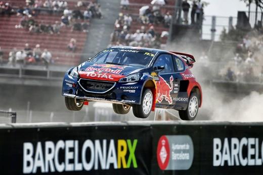 Mondiale Rallycross Barcellona, il Leone allunga