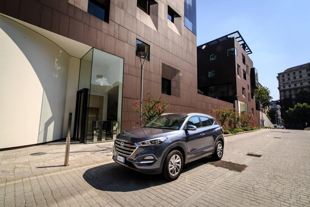 Hyundai Tucson ottiene le 5 stelle EuroNCAP - Foto 10 di 36
