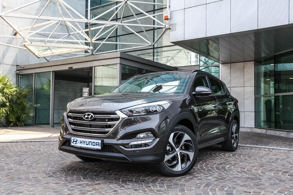 Hyundai Tucson ottiene le 5 stelle EuroNCAP - Foto 18 di 36