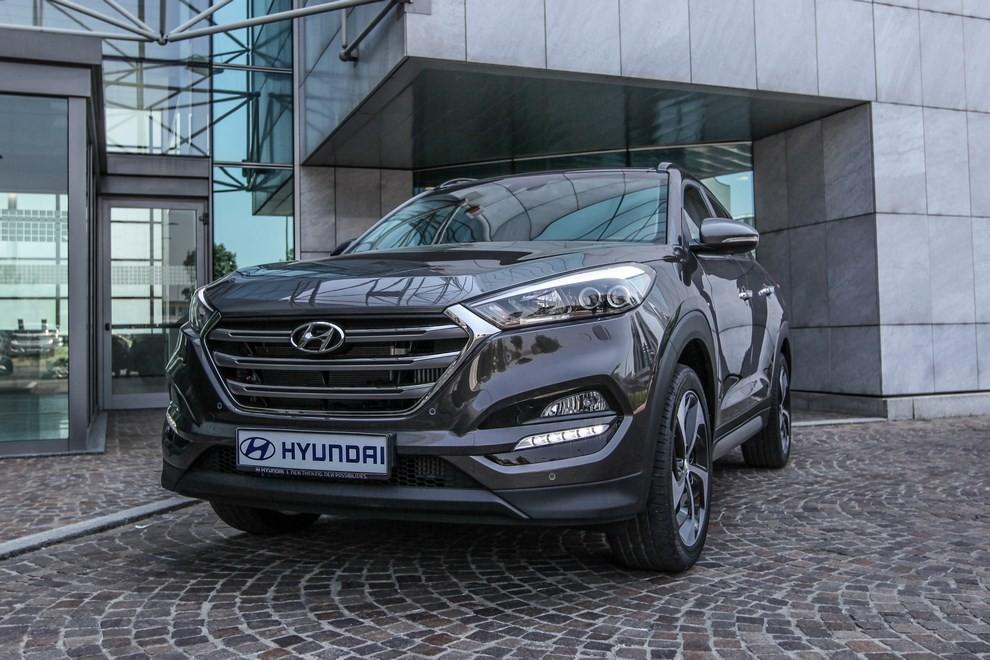 Hyundai Tucson ottiene le 5 stelle EuroNCAP - Foto 20 di 36