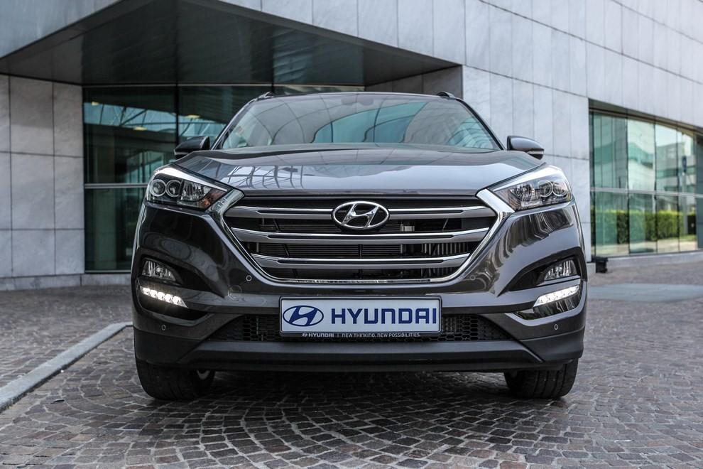 Hyundai Tucson ottiene le 5 stelle EuroNCAP - Foto 22 di 36