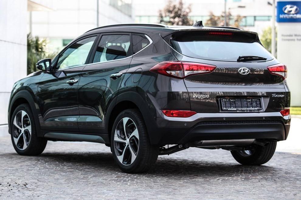 Hyundai Tucson ottiene le 5 stelle EuroNCAP - Foto 27 di 36