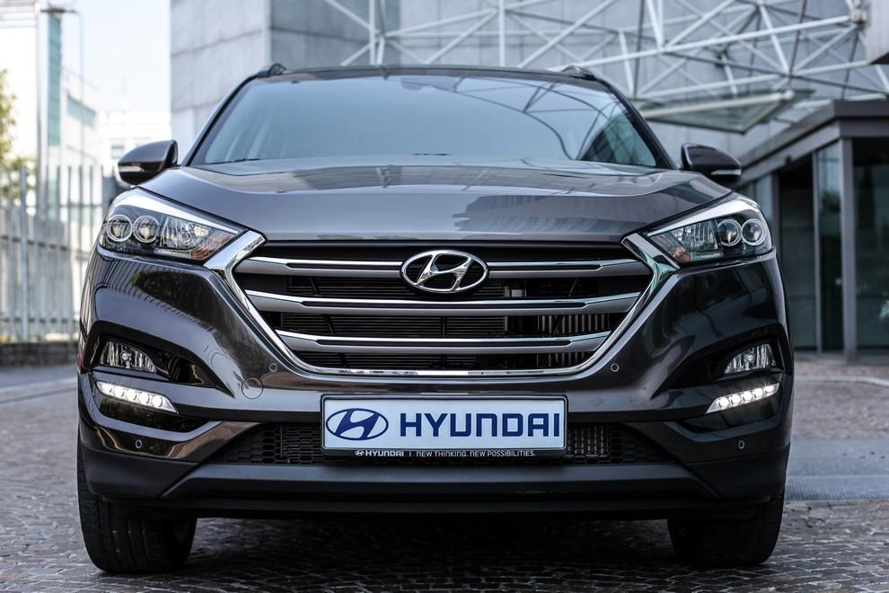 Hyundai Tucson ottiene le 5 stelle EuroNCAP - Foto 31 di 36