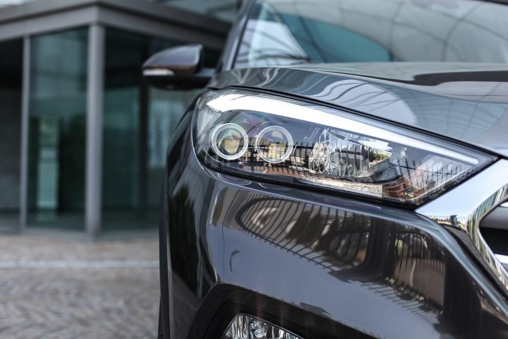 Hyundai Tucson ottiene le 5 stelle EuroNCAP - Foto 32 di 36