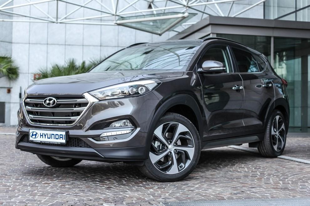 Hyundai Tucson ottiene le 5 stelle EuroNCAP - Foto 33 di 36
