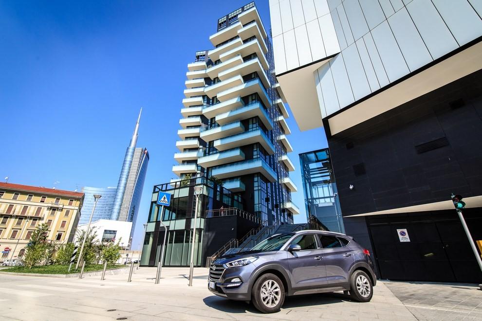 Hyundai Tucson ottiene le 5 stelle EuroNCAP - Foto 3 di 36