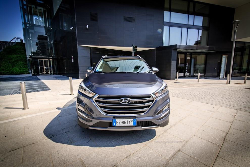 Hyundai Tucson ottiene le 5 stelle EuroNCAP - Foto 4 di 36