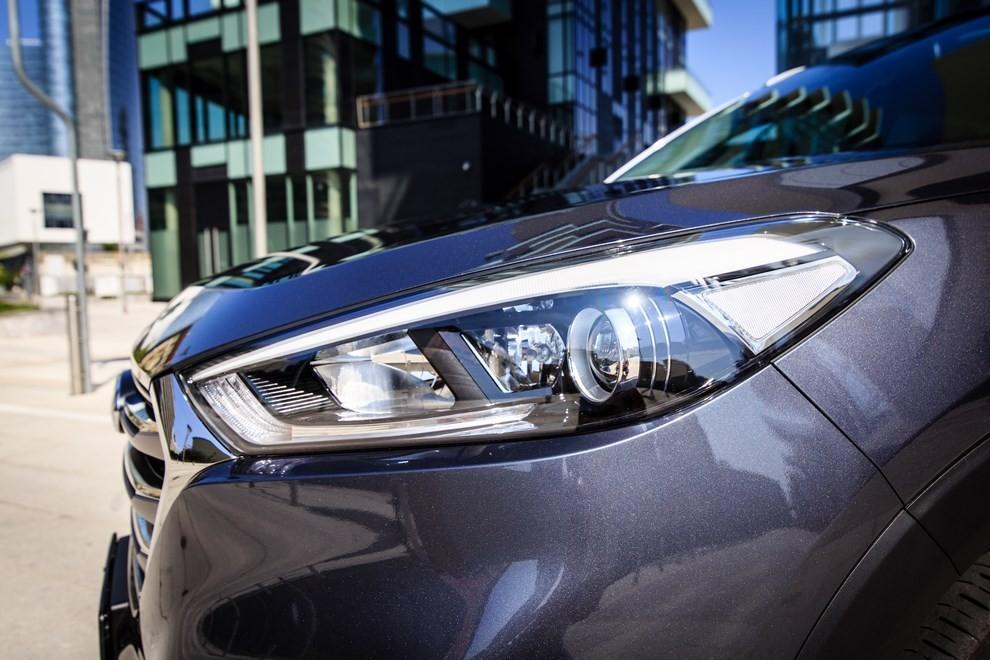 Hyundai Tucson ottiene le 5 stelle EuroNCAP - Foto 5 di 36