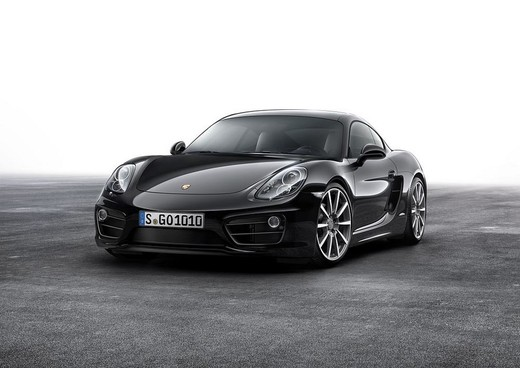 Nuova Porsche Cayman Black Edition