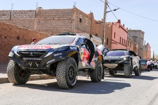 Rally del Marocco, tappa impegnativa per le 2008 DKR