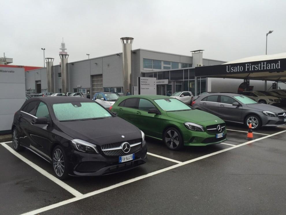 Nuova Mercedes Classe A restyling, prova su strada, info e prezzi da 23.800 euro - Foto 3 di 19
