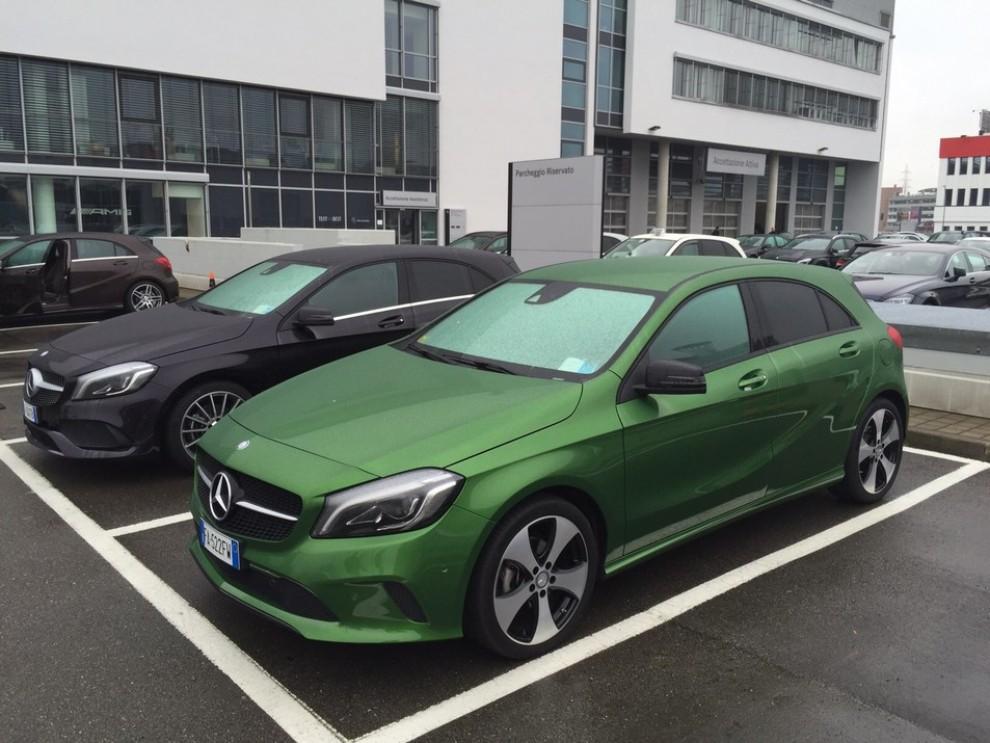 Nuova Mercedes Classe A restyling, prova su strada, info e prezzi da 23.800 euro - Foto 9 di 19