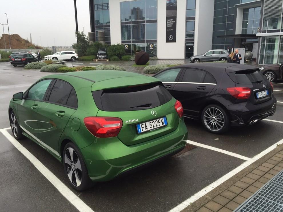 Nuova Mercedes Classe A restyling, prova su strada, info e prezzi da 23.800 euro - Foto 5 di 19