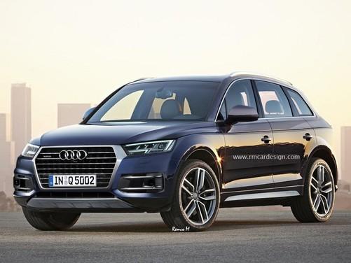 Nuova Audi Q5, il rendering della prossima versione