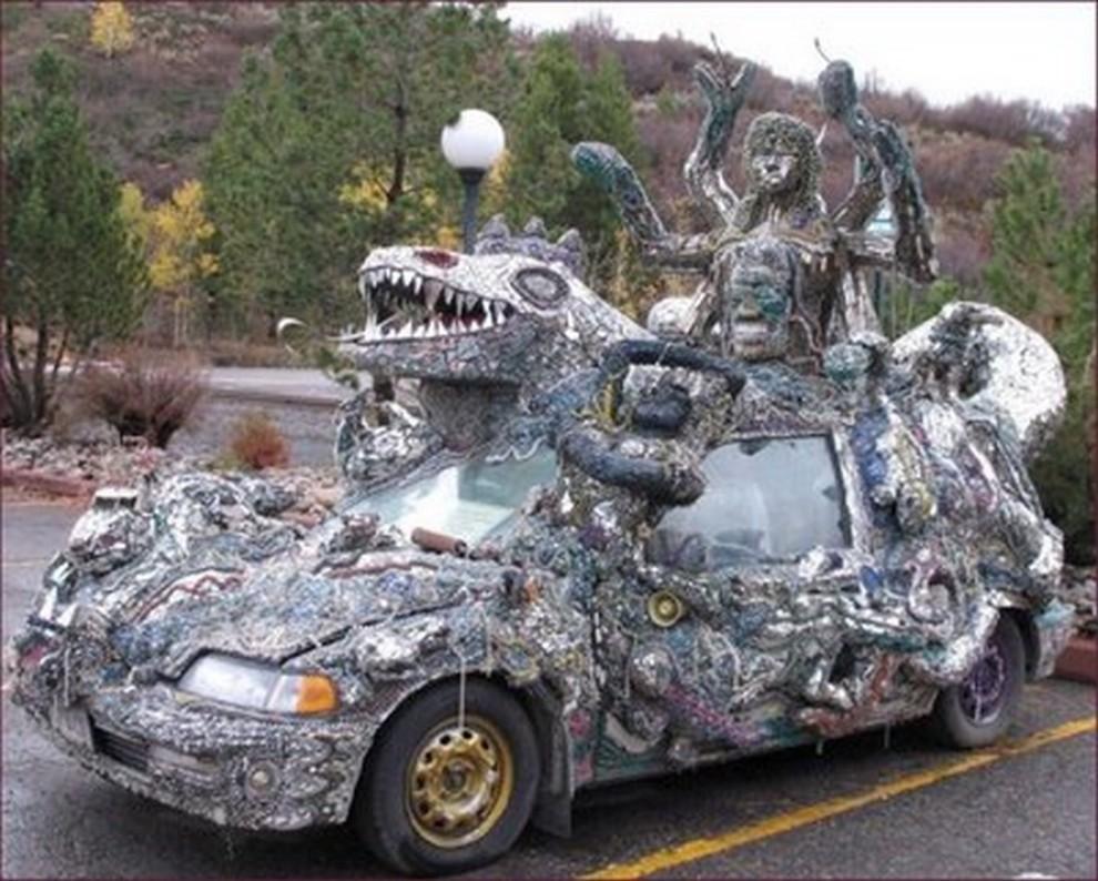 Le più mostruose auto di Halloween - Foto 5 di 6