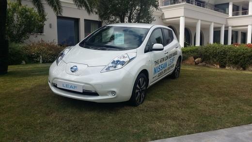 Nuova Nissan Leaf, prova su strada della terza generazione