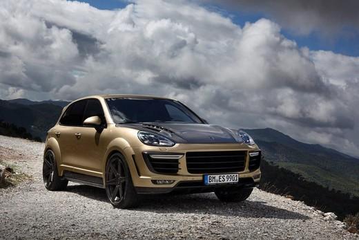 TopCar presenta la nuova Porsche Cayenne Vantage Gold Edition