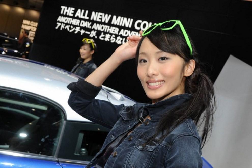 Tutte le più belle ragazze del Tokyo Motor Show 2015 - Foto 20 di 27