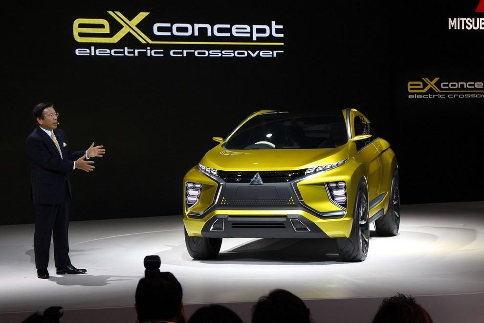 Mitsubishi eX Concept - Foto 12 di 12