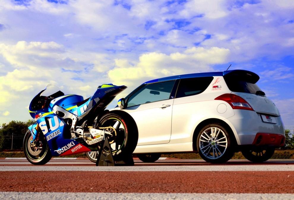 Suzuki Swift Sport GSX-RR: l'auto che celebra la MotoGP - Foto 2 di 8