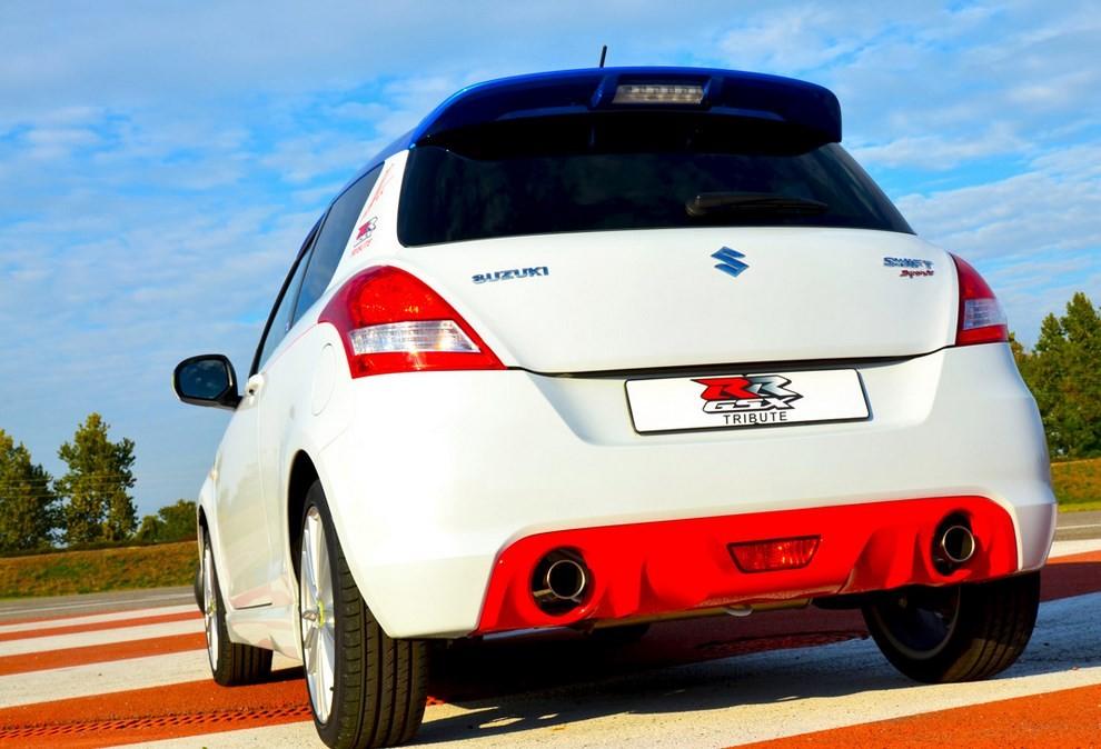 Suzuki Swift Sport GSX-RR: l'auto che celebra la MotoGP - Foto 3 di 8