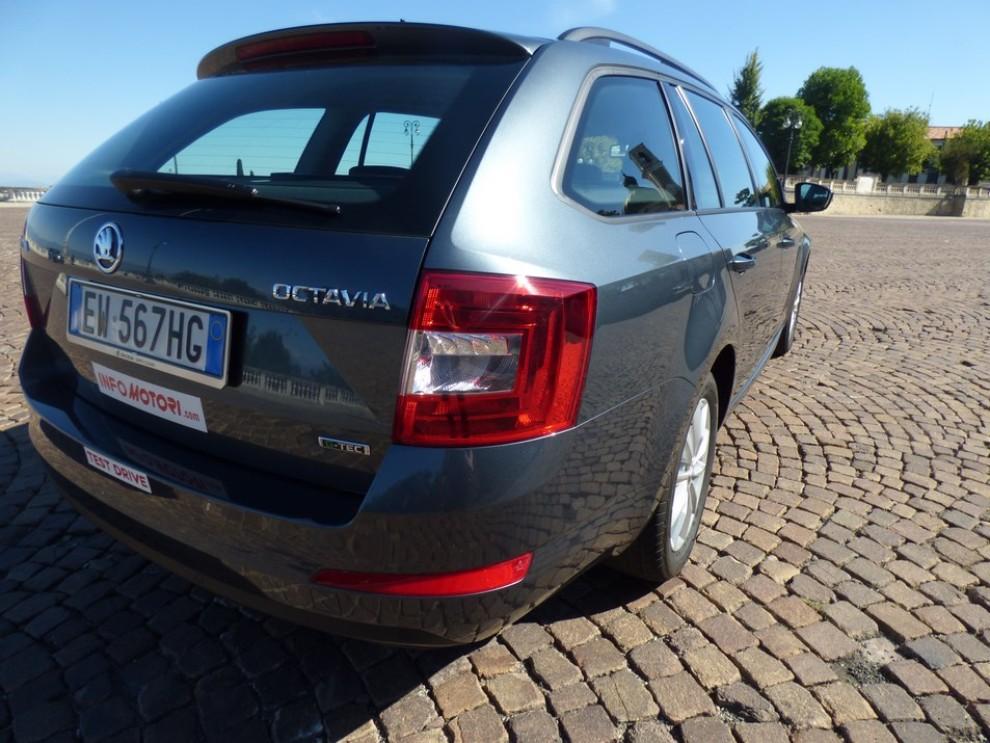 Nuova Skoda Octavia 1.5 G-TEC 130 CV, la versione metano arriva in Italia - Foto 3 di 23