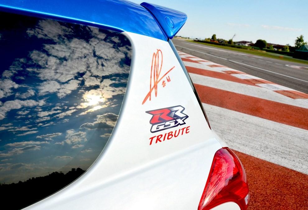 Suzuki Swift Sport GSX-RR: l'auto che celebra la MotoGP - Foto 4 di 8
