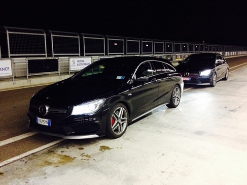 Mercedes, le versioni speciali Night e Dark Night di CLA