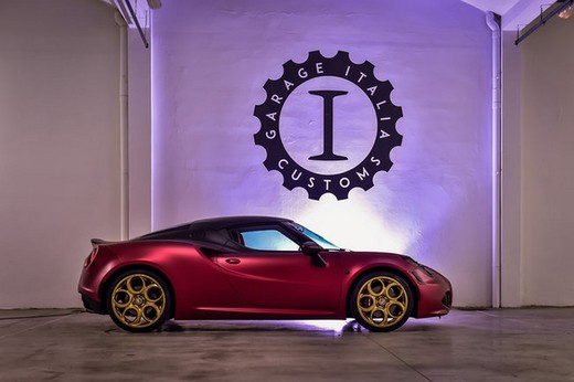 Alfa Romeo 4C La Furiosa by Garage Italia Customs