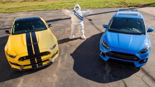 Accordo Ford e Michelin per pneumatici sportivi