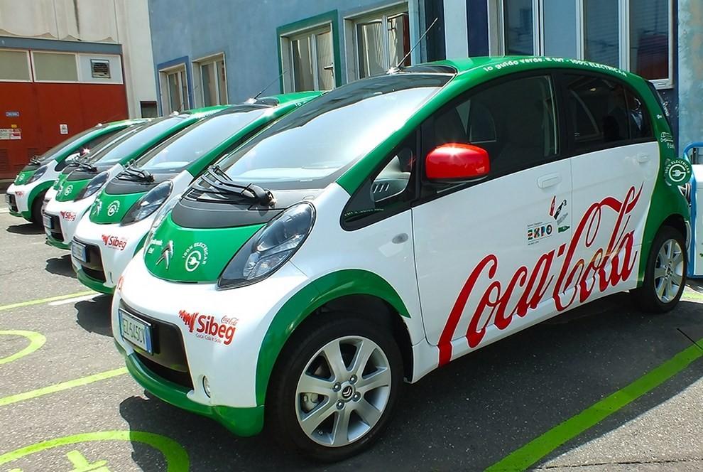 Sibeg vince con la Citroen C-Zero Coca-Cola - Foto 1 di 2
