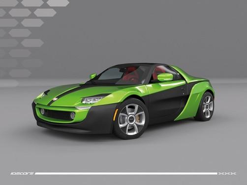 Fiat XXX Concept by Idecore e Maltese Design