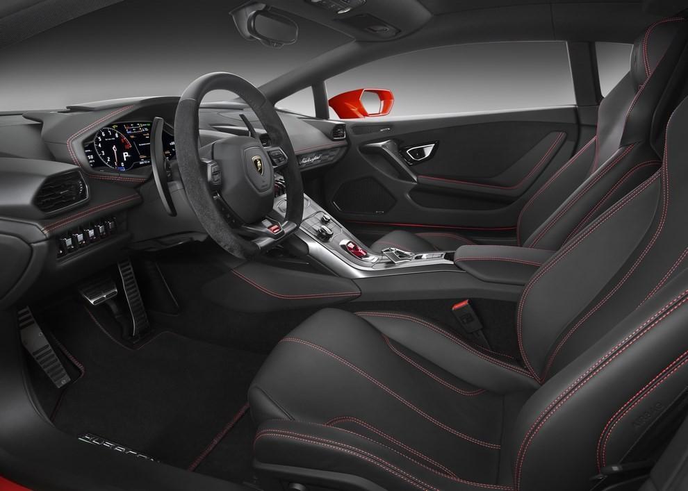 Lamborghini Huracán LP 580-2 a trazione posteriore dati tecnici ed immagini - Foto 6 di 6