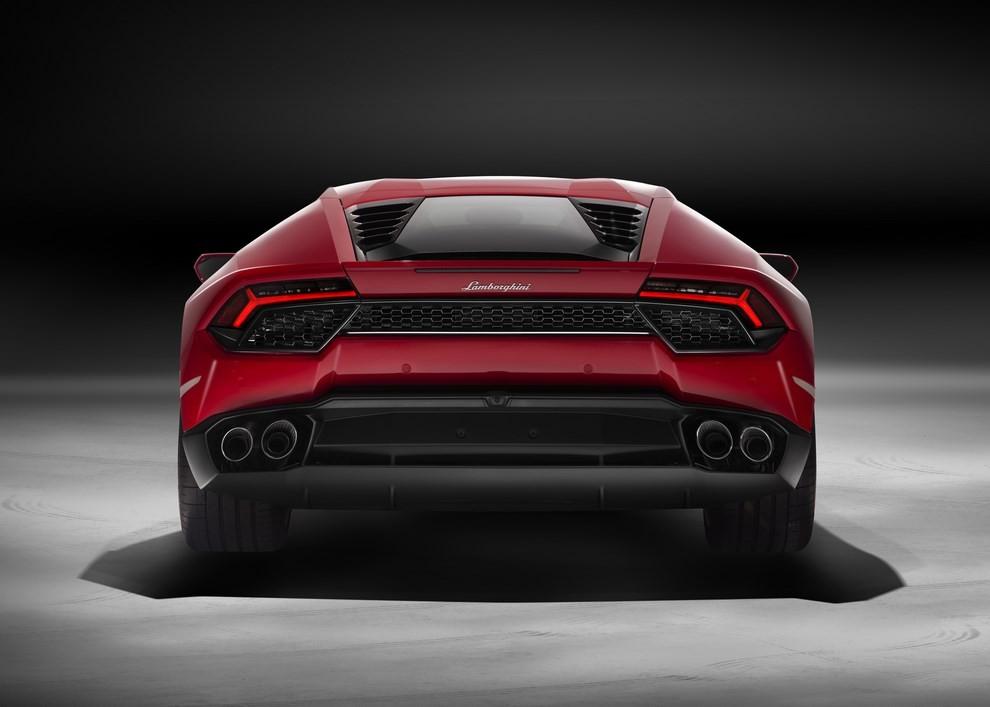 Lamborghini Huracán LP 580-2 a trazione posteriore dati tecnici ed immagini - Foto 4 di 6