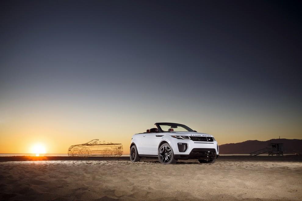La sexy bond Girl presenta la nuova Range Rover Evoque Cabrio - Foto 36 di 39