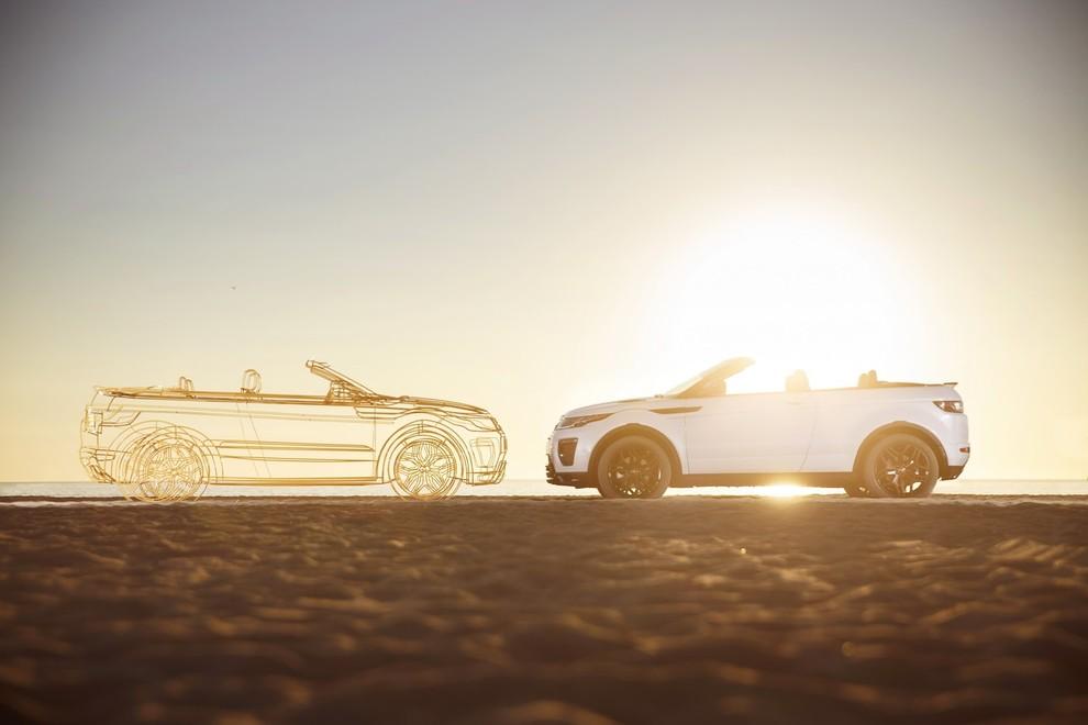 La sexy bond Girl presenta la nuova Range Rover Evoque Cabrio - Foto 39 di 39