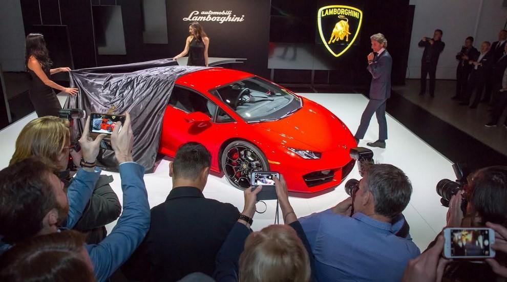 Lamborghini Huracán LP 580-2 a trazione posteriore dati tecnici ed immagini - Foto 2 di 6