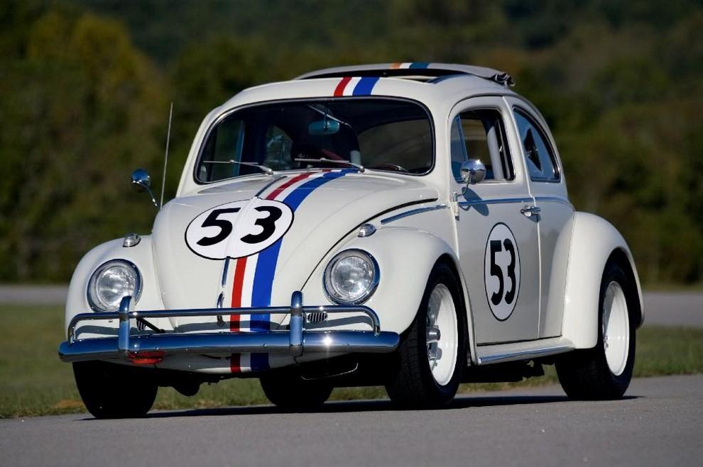 Volkswagen Maggiolino Herbie, in vendita l'esemplare dei film - Foto 3 di 6